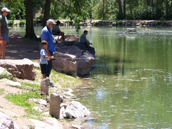 Kid's Fishing Derby at Willow Springs Ponds