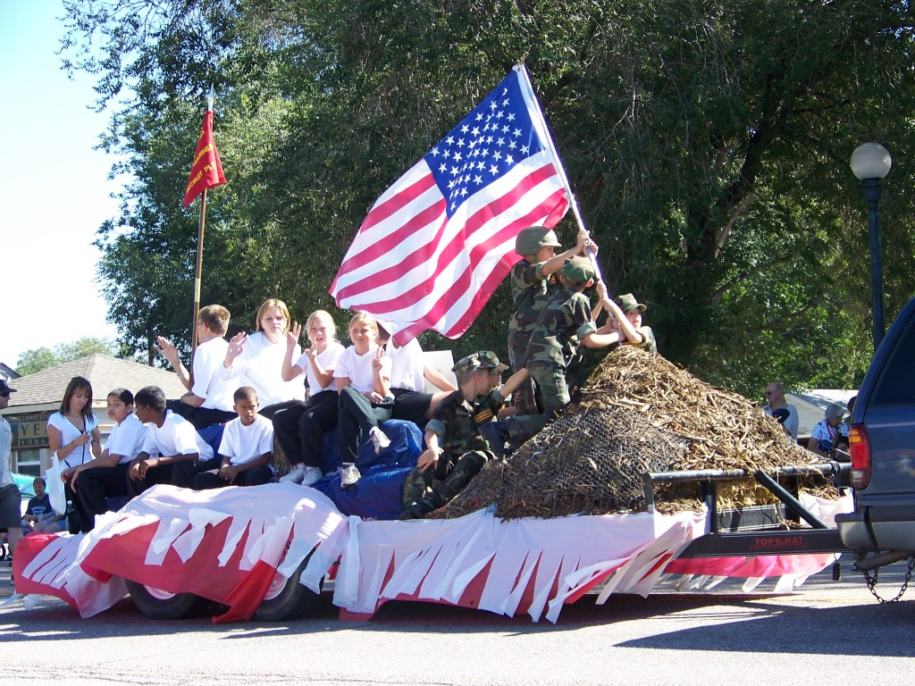 Veteran's Day Parade in Colorado Springs