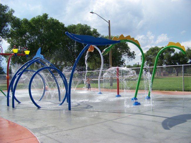 Splash Park in Fountain is Open