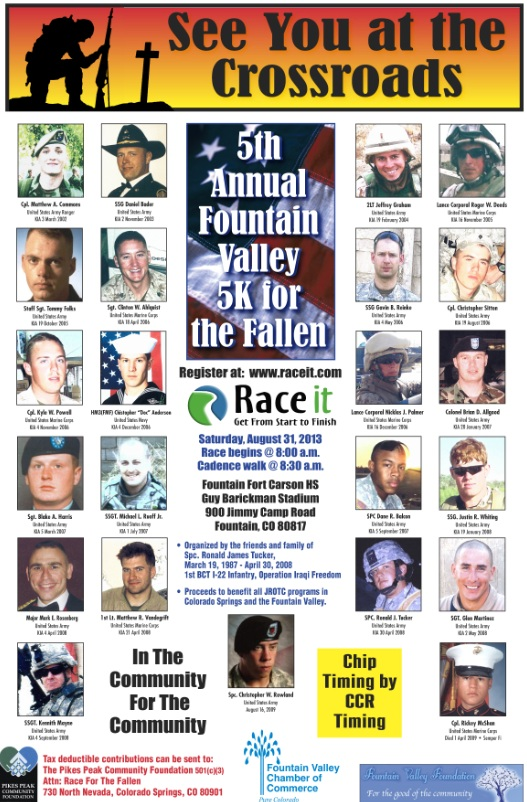 5th Annual Fountain Valley 5K for the Fallen