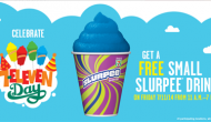 Free Slurpee at 7-Eleven Friday