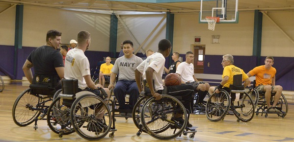 Wounded Warriors Hit the Ground Running at Navy Trials
