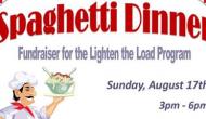 Spaghetti Dinner Fundraiser at Coke's Diner on Sunday