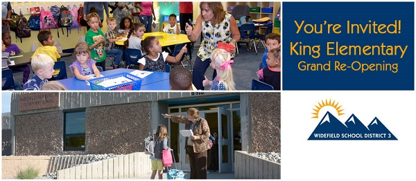 King Elementary Grand Re-opening