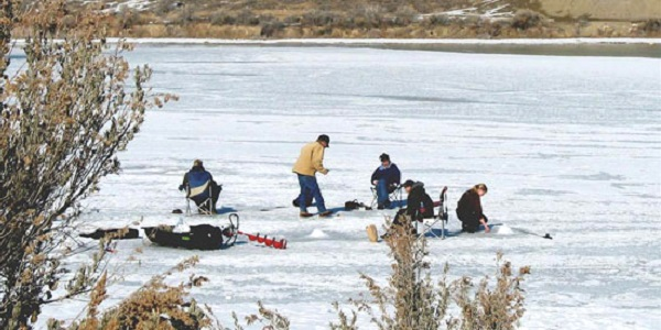 Eleven Mile State Parks Hosts Ice Fishing Tournament in 2015
