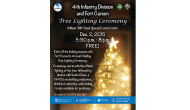Tree Lighting Ceremony at Fort Carson