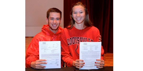 Two Mesa Ridge Students Sign Letters of Intent