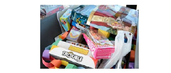 Holiday Toy Drive at Widefield School District 3