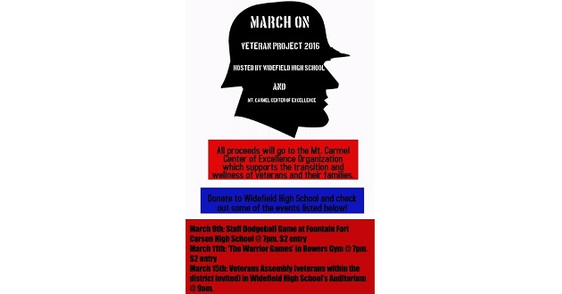 Widefied High Launch March On Campaign for Veterans