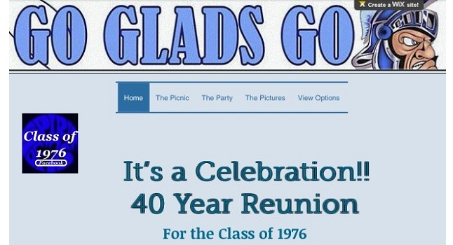 "Class of ""76 Widefield High 40 Year Reunion"