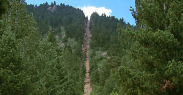 Manitou Incline Trail Reopening Celebration