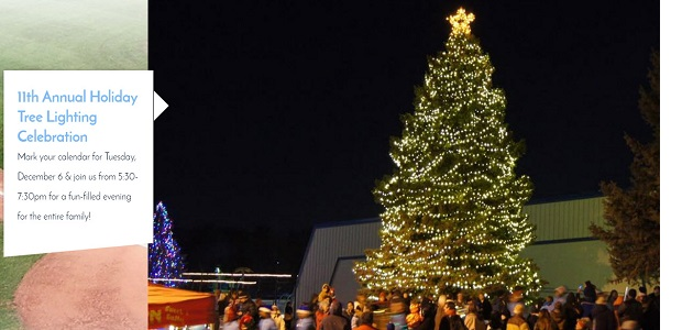 Tree Lighting Celebration in Widefield