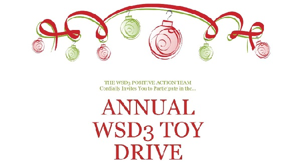 Widefield District 3  Toy Drive