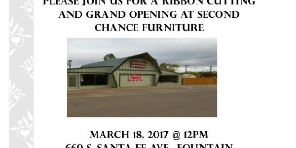 Ribbon Cutting Second Chance Furniture