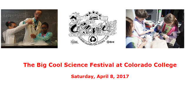 Cool Science Festival at Colorado College