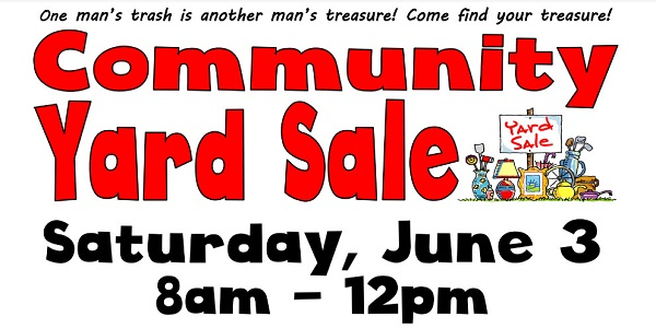 Community Yard Sale at Widefield Parks & Recreation