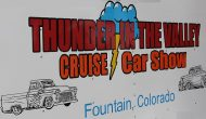 Thunder in the Valley Cruise and Car Show in Fountain