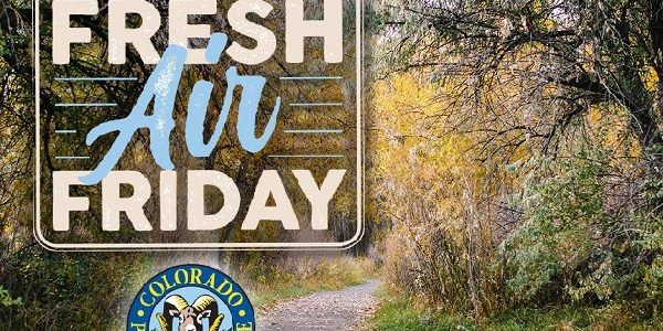 Get out and give thanks on Fresh Air Friday!
