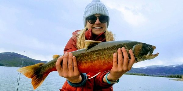 Woman Catches State Record Arctic Char in Dillon Reservoir