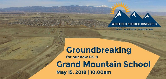 New School Groundbreaking Widefield School District 3