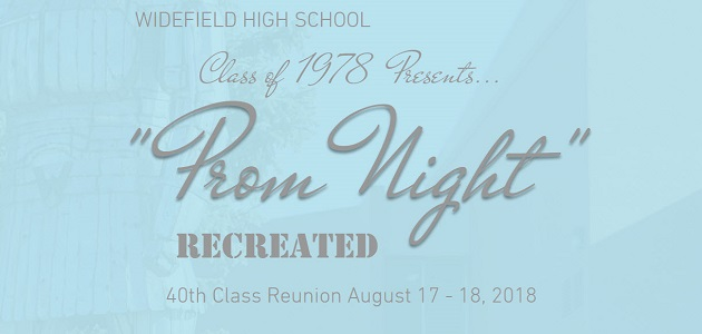 Widefield Class of 1978 Reunion