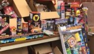Confiscated Illegal Fireworks in Colorado Springs
