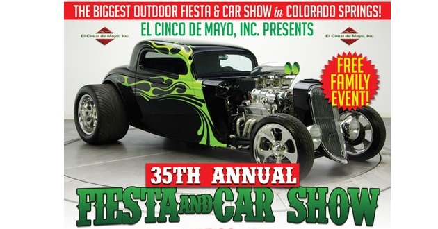 Biggest Outdoor Fiesta And Car Show In Colorado Springs - Old school car show colorado springs
