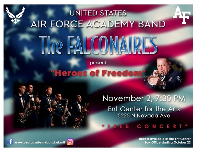 Free Concert From Air Force Band