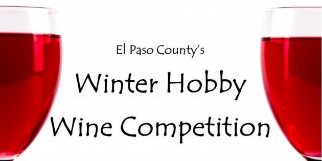 El Paso County's Winter Hobby Wine Competition