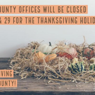 El Paso County Offices Closed Today