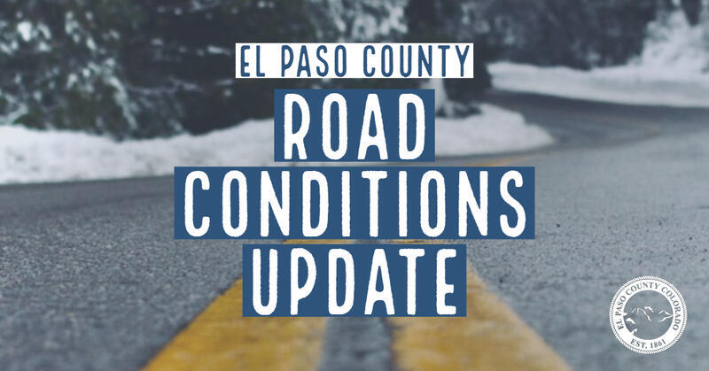 El Paso County Road Conditions