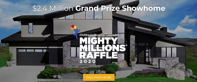 Win $2.4 Million Showhome and Support Children's Hospital Colorado