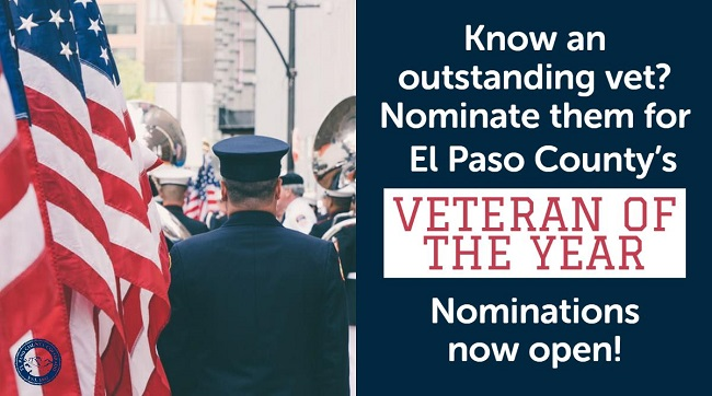 Veteran of the Year Nominations