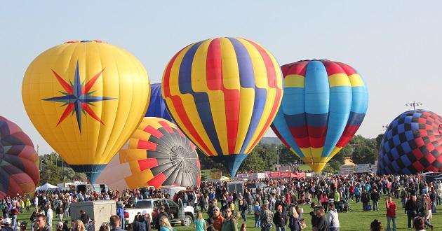 Hot Air Balloon Festival in Colorado Springs