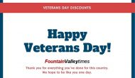 Veterans Day 2020 Discounts